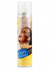Goldenes Haar-und Körperspray