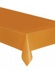 Orange Kunststofftischdecke
