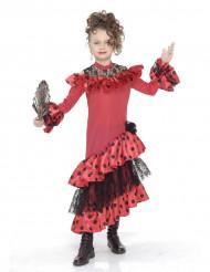 Flamencotänzerin Kinderkostüm für Mädchen