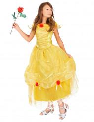 Prinzessin-Kostüm für Mädchen gelb-rot