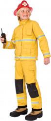 Feuerwehrmann Kinderkostüm für Jungen