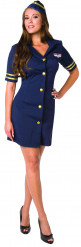 Sexy Stewardess-Kostüm für Damen