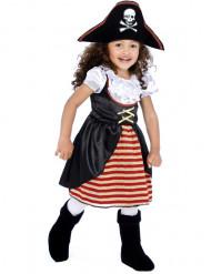 Pirat Kinderkostüm für Mädchen