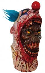Maske Clown blutrünstig für Erwachsene