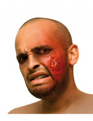 Künstliche Wunde Kratzer Halloween-Make-up rot