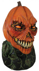 Böser Kürbis Maske für Erwachsene Halloween