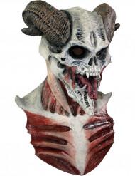 Skelett Maske teuflisch für Erwachsene Halloween