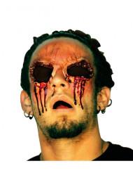 Falsche Wunde Ohne Augen für Erwachsene Halloween