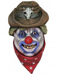 Cowboy Clown Maske Erwachsene Halloween