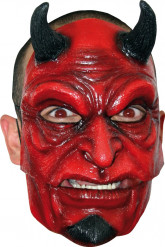 Teufel Maske mit Hörner Erwachsene Halloween