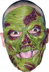 Zombie Maske grün Erwachsene Halloween