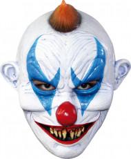 Clownsmaske teuflisch Erwachsene Halloween