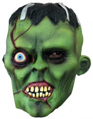 Monster Maske Erwachsene grün Halloween
