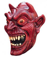 rote Dämon Maske Halloween für Erwachsene