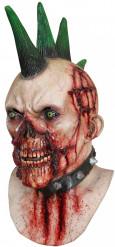 blutige Punker Maske Halloween für Erwachsene