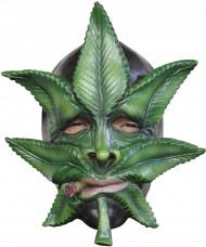 Kanabis Blatt Maske für Erwachsene