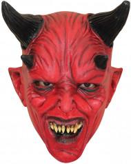 rote Teufelsmaske Halloween für Kinder