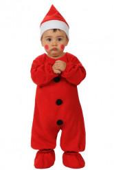 Weihnachtsmann Kostüm Baby