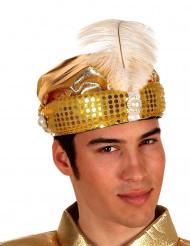 Goldener Sultans-Hut für Erwachsene
