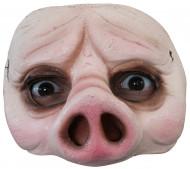 Schwein - Halbmaske für Erwachsene