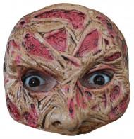 verbranntes Gesicht Halbmaske Halloween für Erwachsene