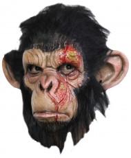 Verwundeter Affe Maske Halloween für Erwachsene