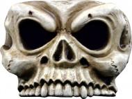 Skelett-Halbmaske Halloween für Erwachsene