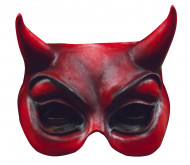 Teufel Halb-Maske für Erwachsene Halloween