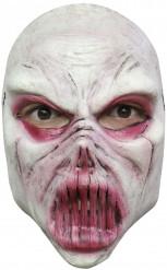 Weisses Monster Mask für Erwachsene Halloween