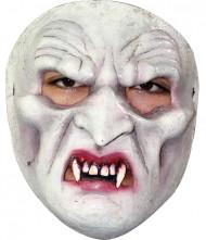 Weisser Vampir Mask für Erwachsene Halloween