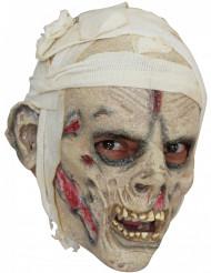 Mumien-Halloween-Maske für Erwachsene bunt