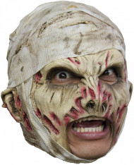 Mumien-Maske Halloween für Erwachsene