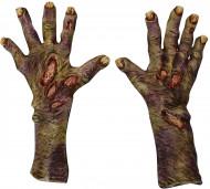 Latex Zombie Handschuhe Halloween für Erwachsene
