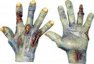 Handschuhe tot-lebendig für Erwachsene Halloween