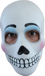 Dia de los Muertos geschminkte Totenkopf-Maske für Damen