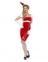 Sexy Nikolaus-Kostüm für Damen