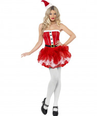Ballettröckchen Weihnachtsfrau für Damen