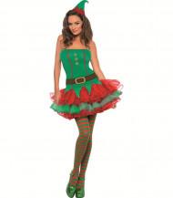 Sexy Elfen-Kostüm für Damen