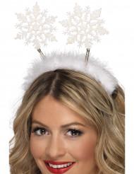 Haarreif Schneeflocke für Erwachsene