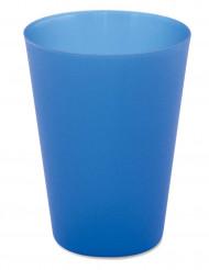 4 blaue bayrische Becher
