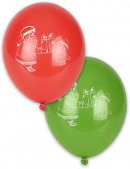 Weihnachts-Luftballons 4 Stck