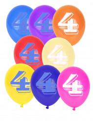 8 Luftballons - Ziffer 4