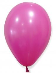 12 Luftballons -  fuchsia/helles purpur
