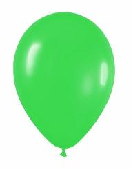 12 Luftballons - grün