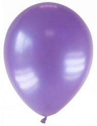 12 Luftballons violett Latex