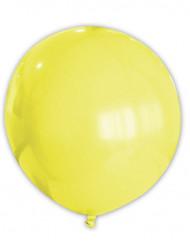 Riesiger gelber Luftballon