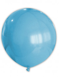 Riesiger türkisfarbener Luftballon