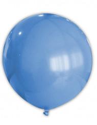 Riesiger blauer Luftballon