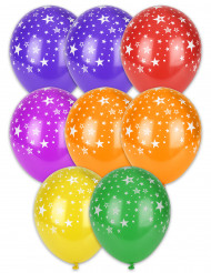 8 Luftballons Sternen