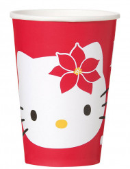 8 Becher Hello Kitty™ Weihnachten